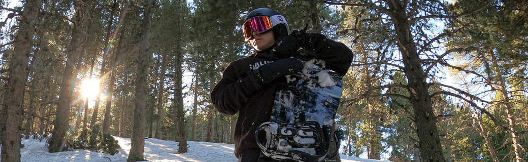 Review Salomon Sight Snowboard by Lukaz Rodriguez