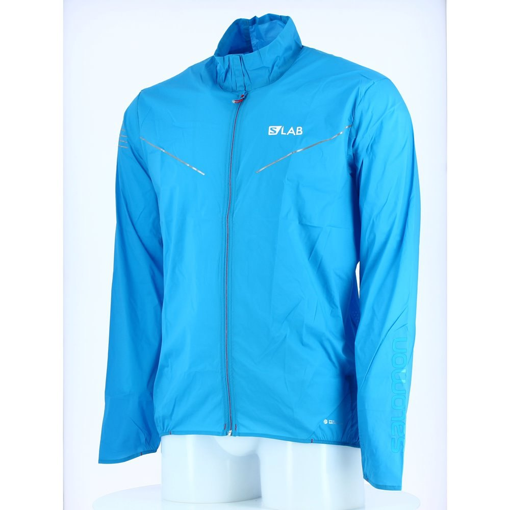 1508933d688a Salomon S-Lab Light Jacket Blue buy and offers on Runnerinn