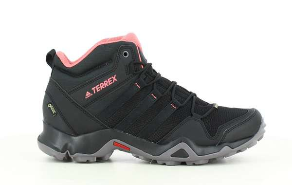 conversacion inventar reemplazar  adidas Terrex AX2R Mid Goretex Black buy and offers on Trekkinn