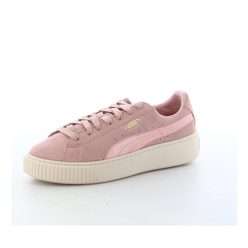 ad51756a3f1a4f Puma Suede Platform Mono Satin Pink buy and offers on Dressinn