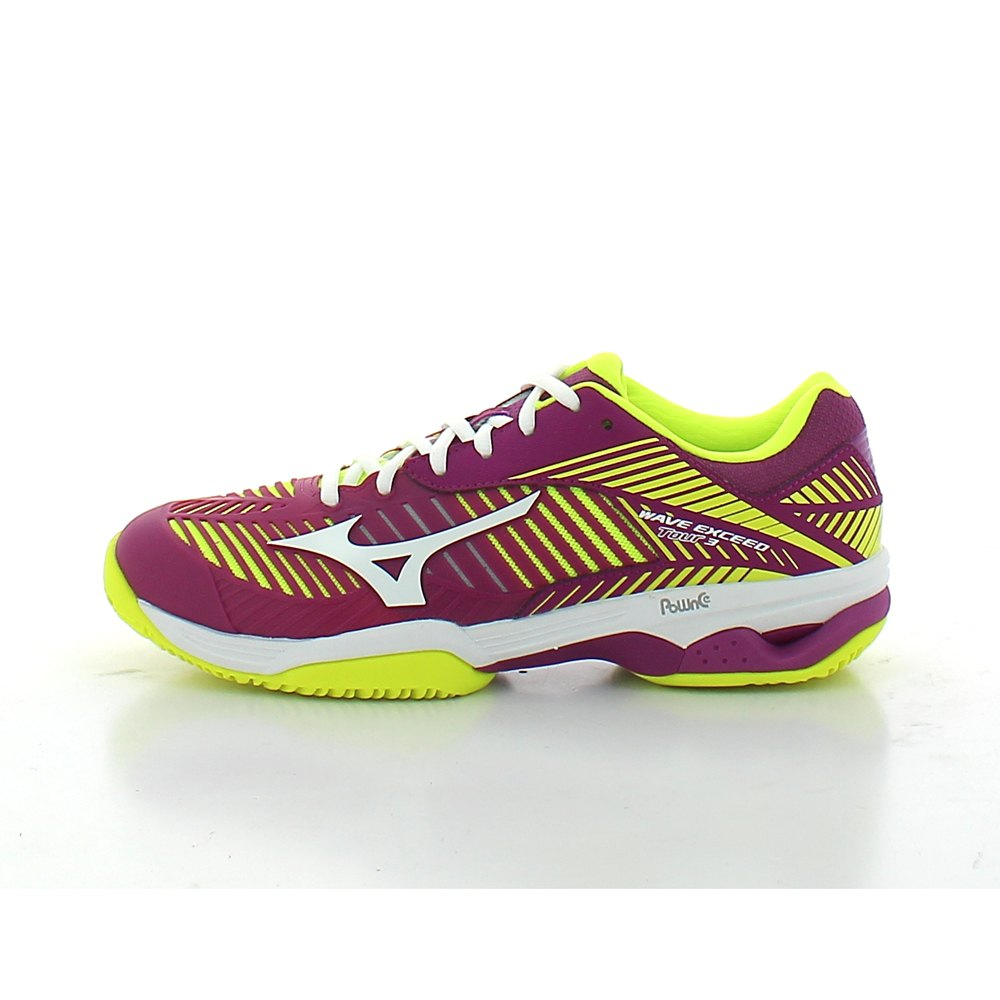 low priced 05573 3e507 Mizuno Wave Exceed Tour 3 Clay Yellow buy and offers on Smashinn