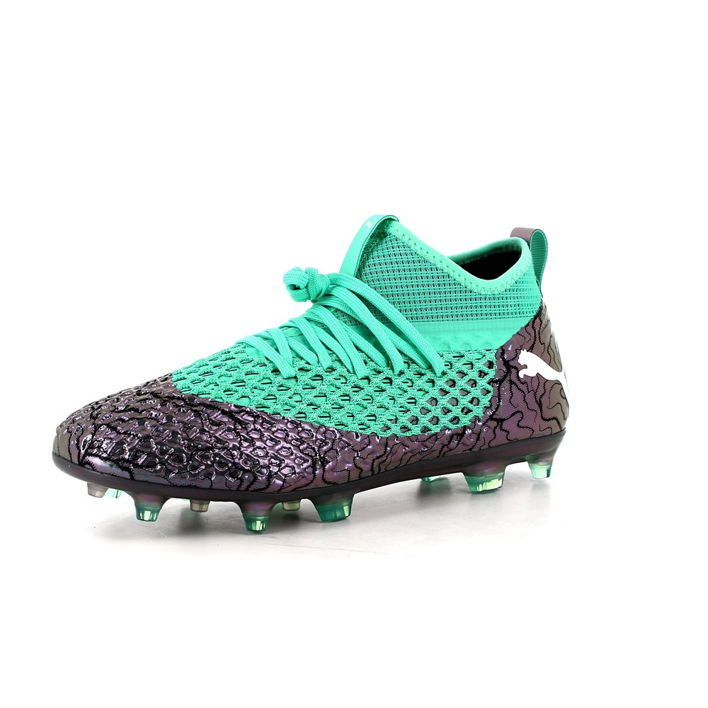7e933e630 Puma Future 2.2 Netfit FG/AG Green buy and offers on Goalinn