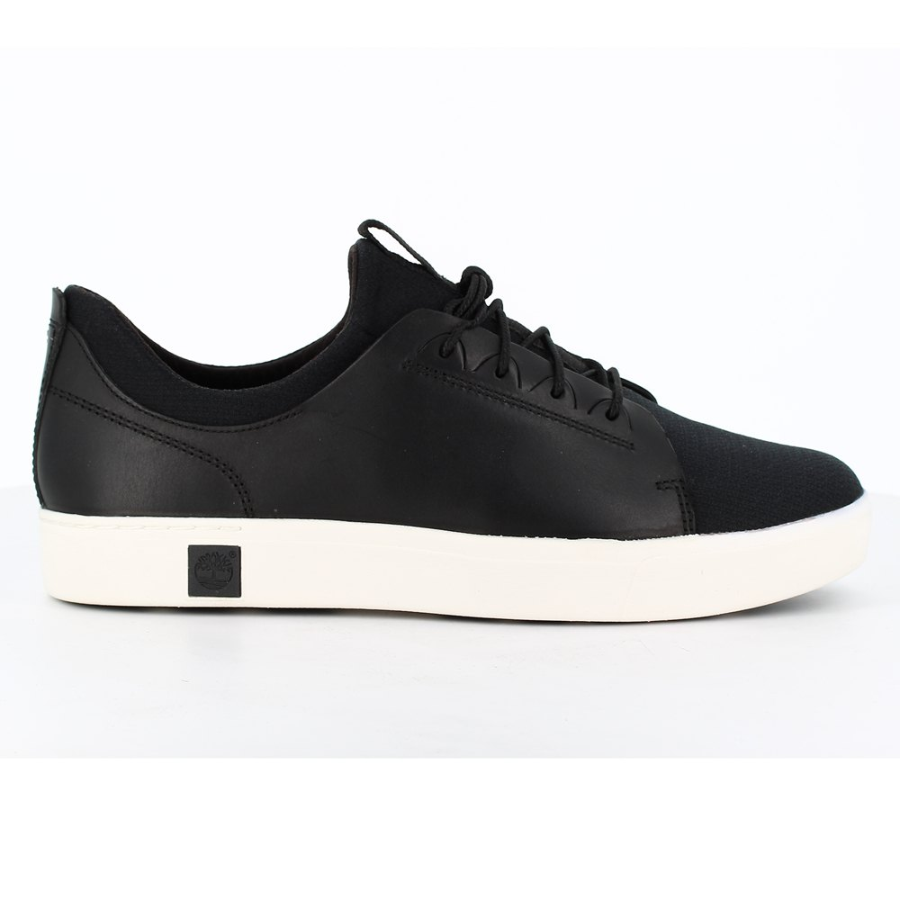 Timberland Amherst Leather Lace To Toe Wide Noir, Dressinn