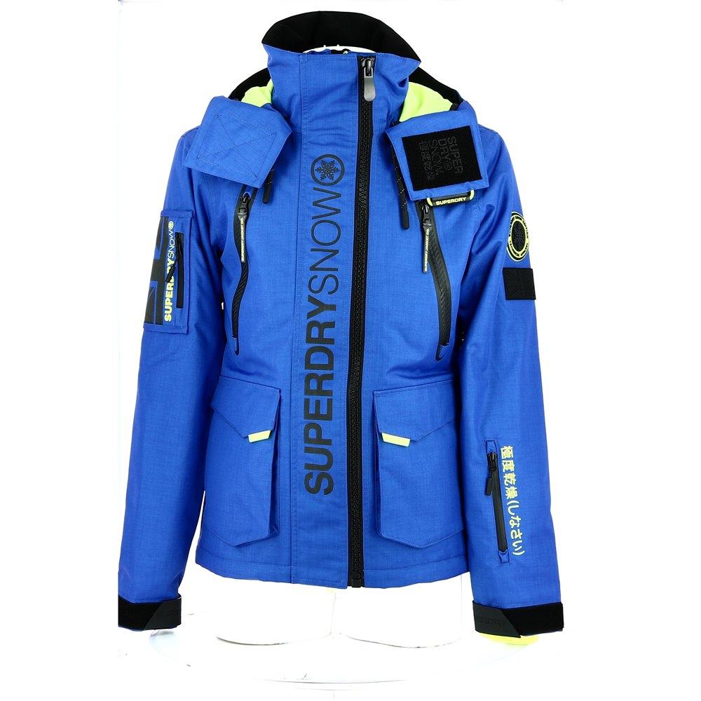 Casaco feminino impermeável e térmico SUBER COMPLET GORE TEX® Sea blue, Trangoworld