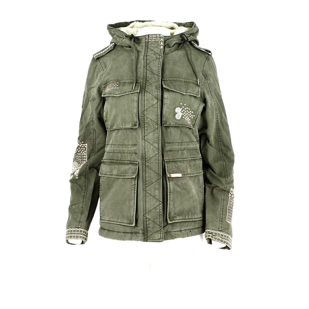 superdry veste rookie dakota jacket light khaki