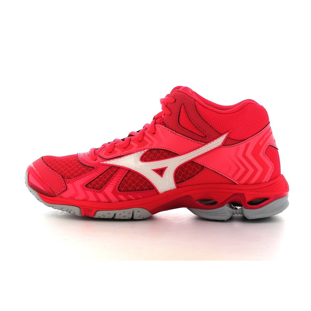 79592e94bec8 Mizuno Wave Bolt 7 Mid Pink buy and offers on Goalinn