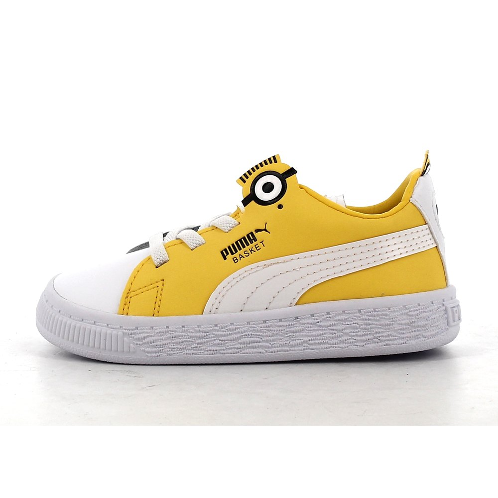 Puma select Minions Basket BS AC Infant Jaune, Kidinn