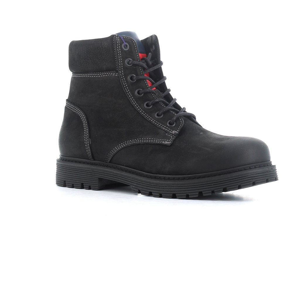 40aec9d9 Tommy hilfiger Iconic Nubuck Black buy and offers on Dressinn