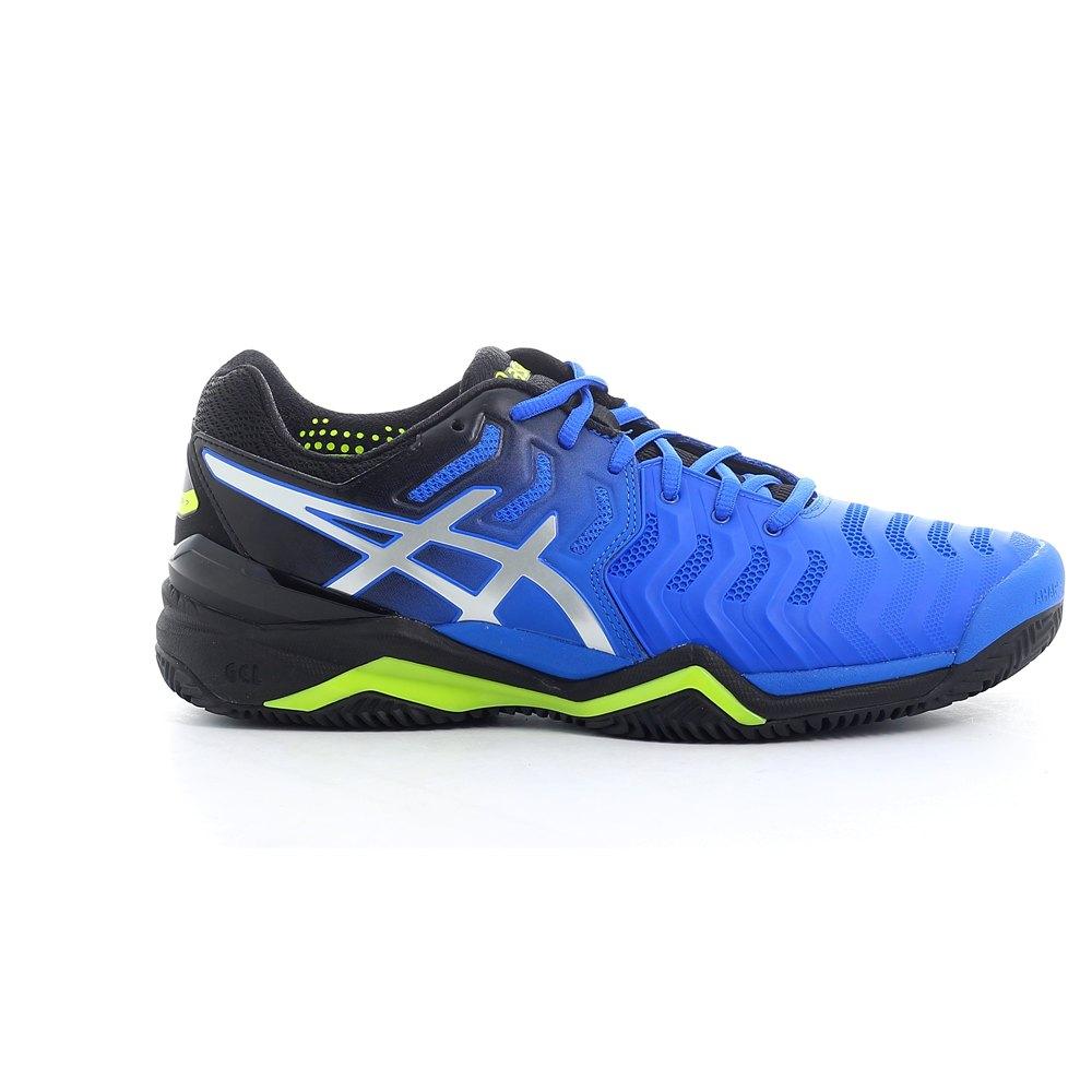 Asics Chaussures Terre Battue Gel Resolution 7 Bleu, Smashinn