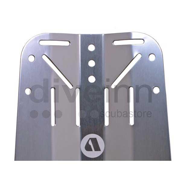 Einzelteile Back Plate Aluminium