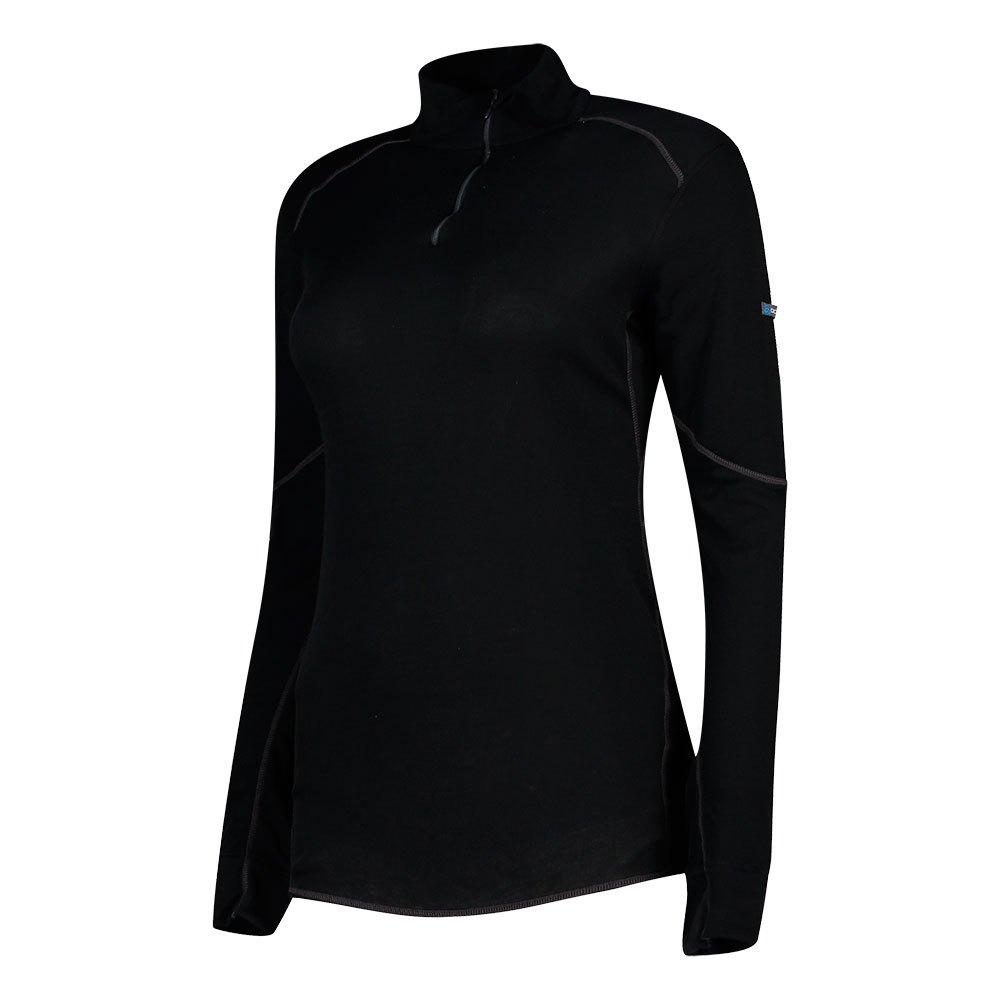 Odlo Shirt X Warm Turtle Neck 1/2 Zip XL Black