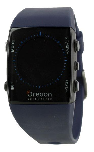 Oregon Scientific Tracker Digital Compass Watch One Size Blue