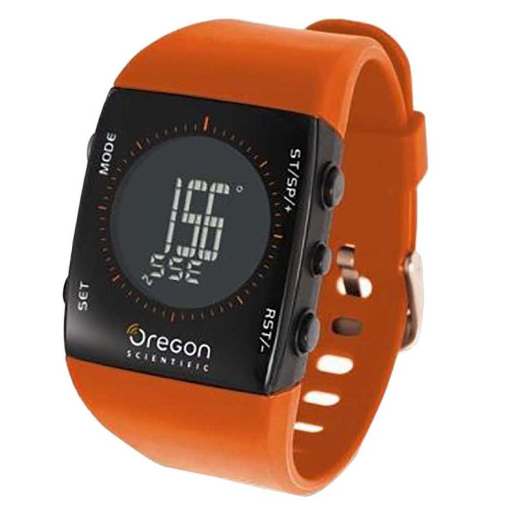 Oregon Scientific Tracker Digital Compass Watch One Size Orange