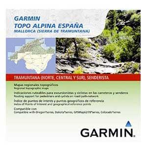 Garmin Topo Alpina Spain Micro Sd One Size Sistema Central