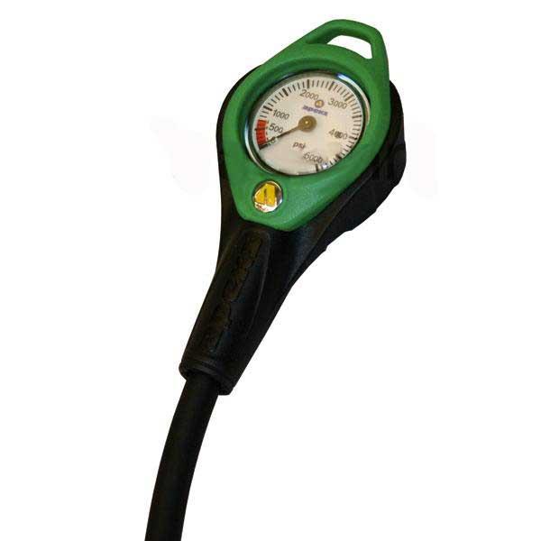Apeks Pressuge Gauge Nitrox O2 Druckmesser Pressuge Gauge Nitrox O2