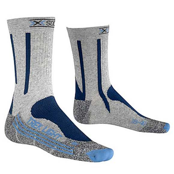 X-socks Treking Light EU 37-38 Grey Pearl