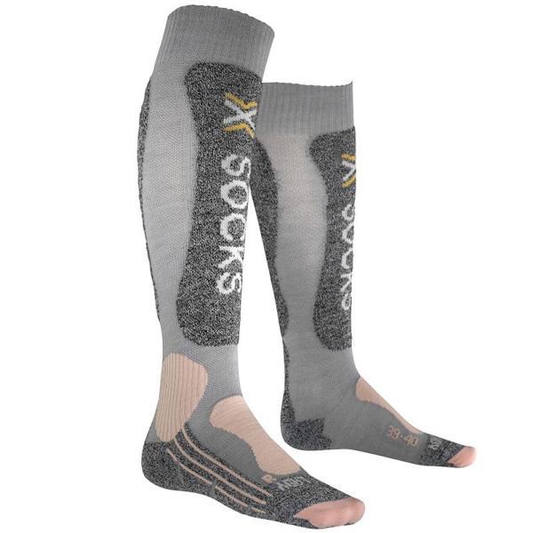 X-socks Skiing Light Socks EU 35-36 Grey / Pink