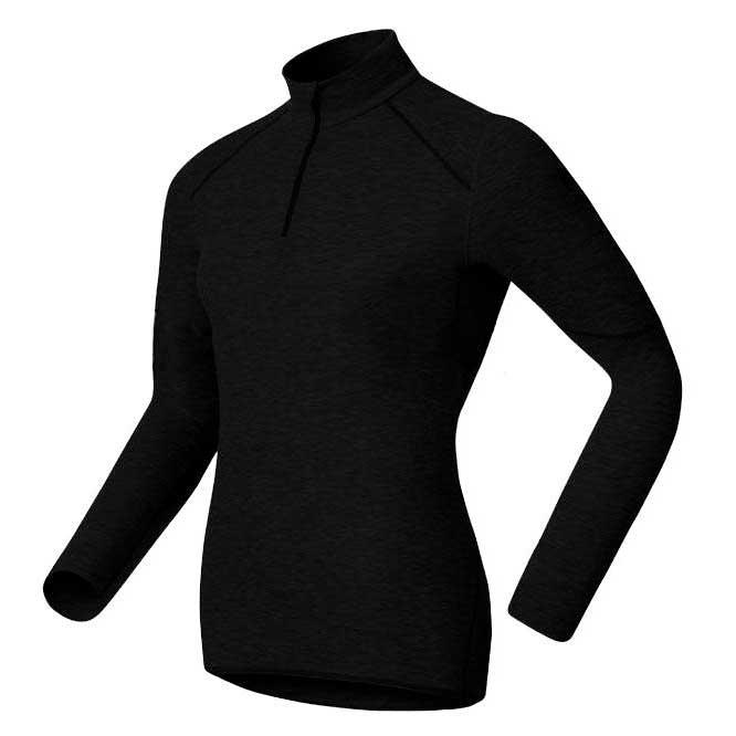 Odlo Shirt L/s Turtle Neck 1/2 Zip X Warm XXL Black