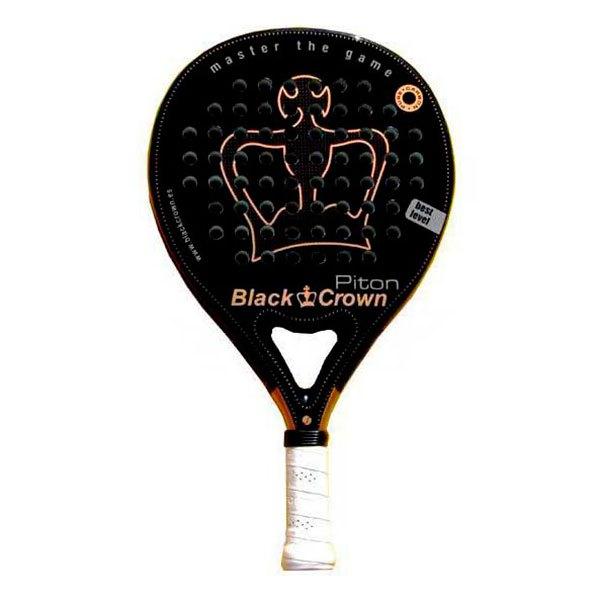 Black Crown Raquette Padel Piton One Size Black / Gold