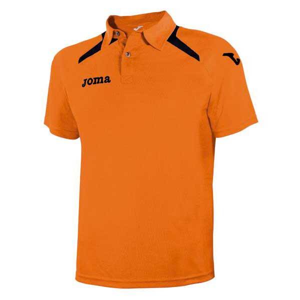 Joma Champion Ii Short Sleeve Polo Shirt 4 Years Orange