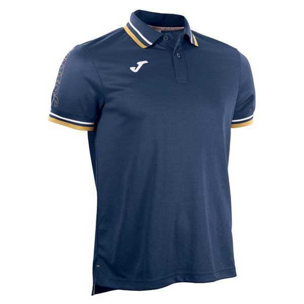 Joma Campus Short Sleeve Polo Shirt 6-8 Years Navy