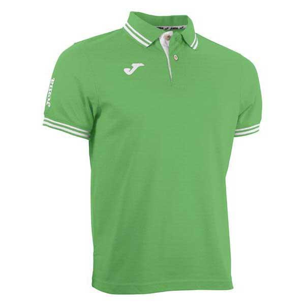 Joma Combi Short Sleeve Polo Shirt S Green