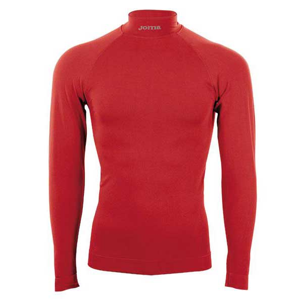 Joma Brama Classic With Neck L/s L-XL Red