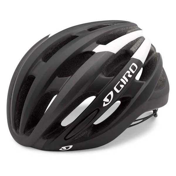 Giro Foray Matte Matte Matte negro / Blanco , Cascos Giro , ciclismo , Protecciones fde034