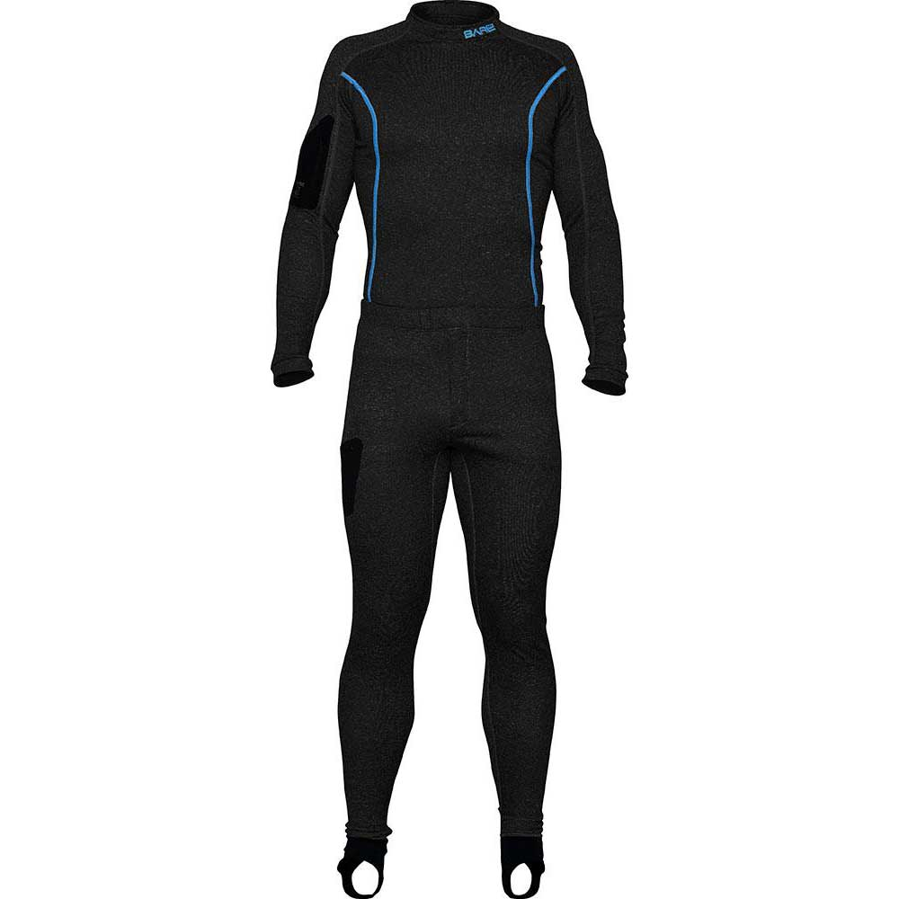 Bare Sb System Mid Layer Full LS Black Thermo und UV-Schutz Sb System Mid Layer Full