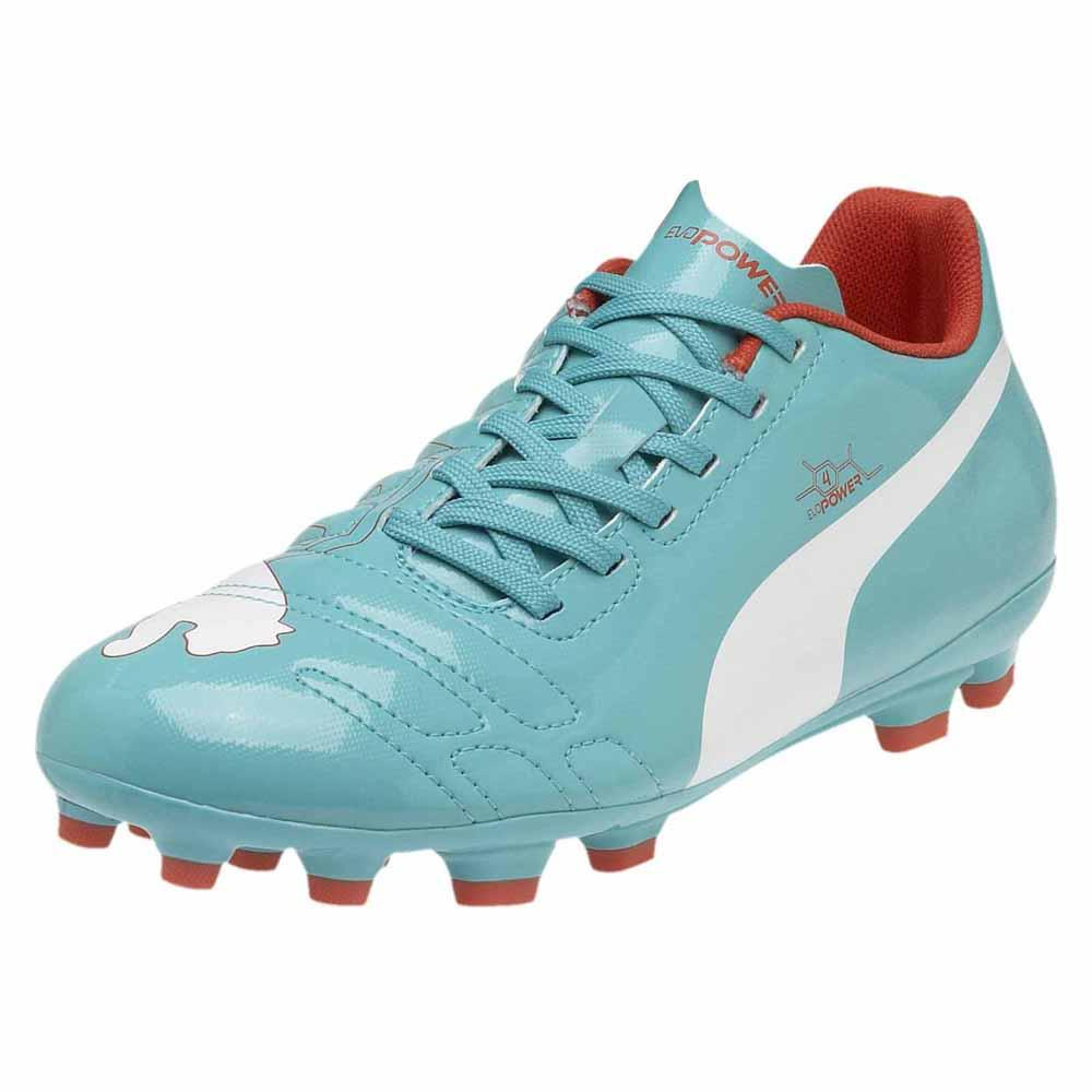 Puma Puma Puma Evopower 4 Ag Junior verde / bianca / Grenadine , Calcio Junior Puma f038a3