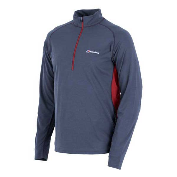 Berghaus Tech Tee Base L/s Zip Neck