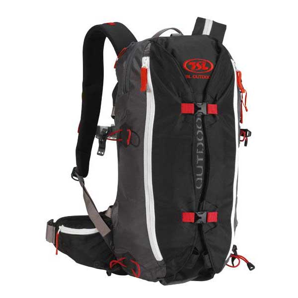 Tsl Outdoor Dragonfly 15/30l Backpack One Size Black