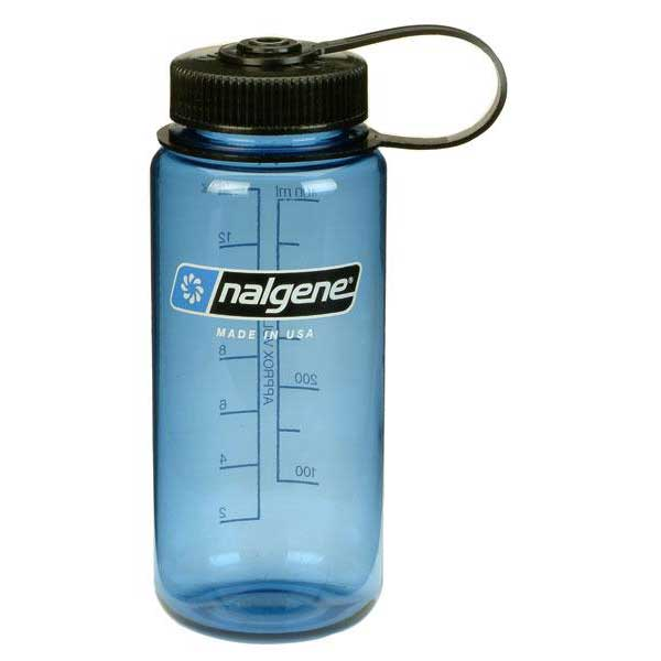 Nalgene Wide Mouth Bottle 500ml One Size Blue / Loop-Top Black