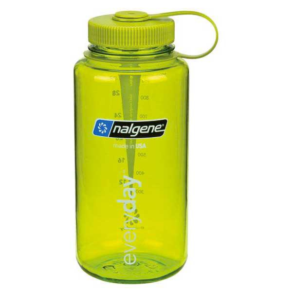 Nalgene Wide Mouth Bottle 1l One Size Green / Loop-Top Green
