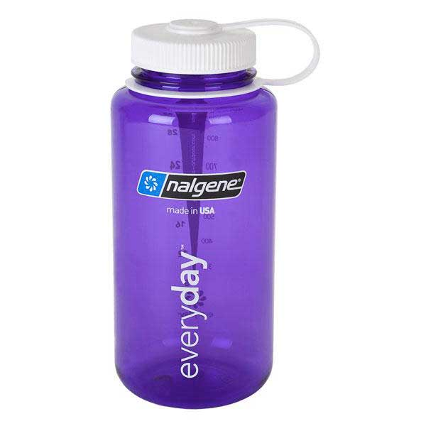 Nalgene Wide Mouth Bottle 1l One Size Lilac / Loop-Top White