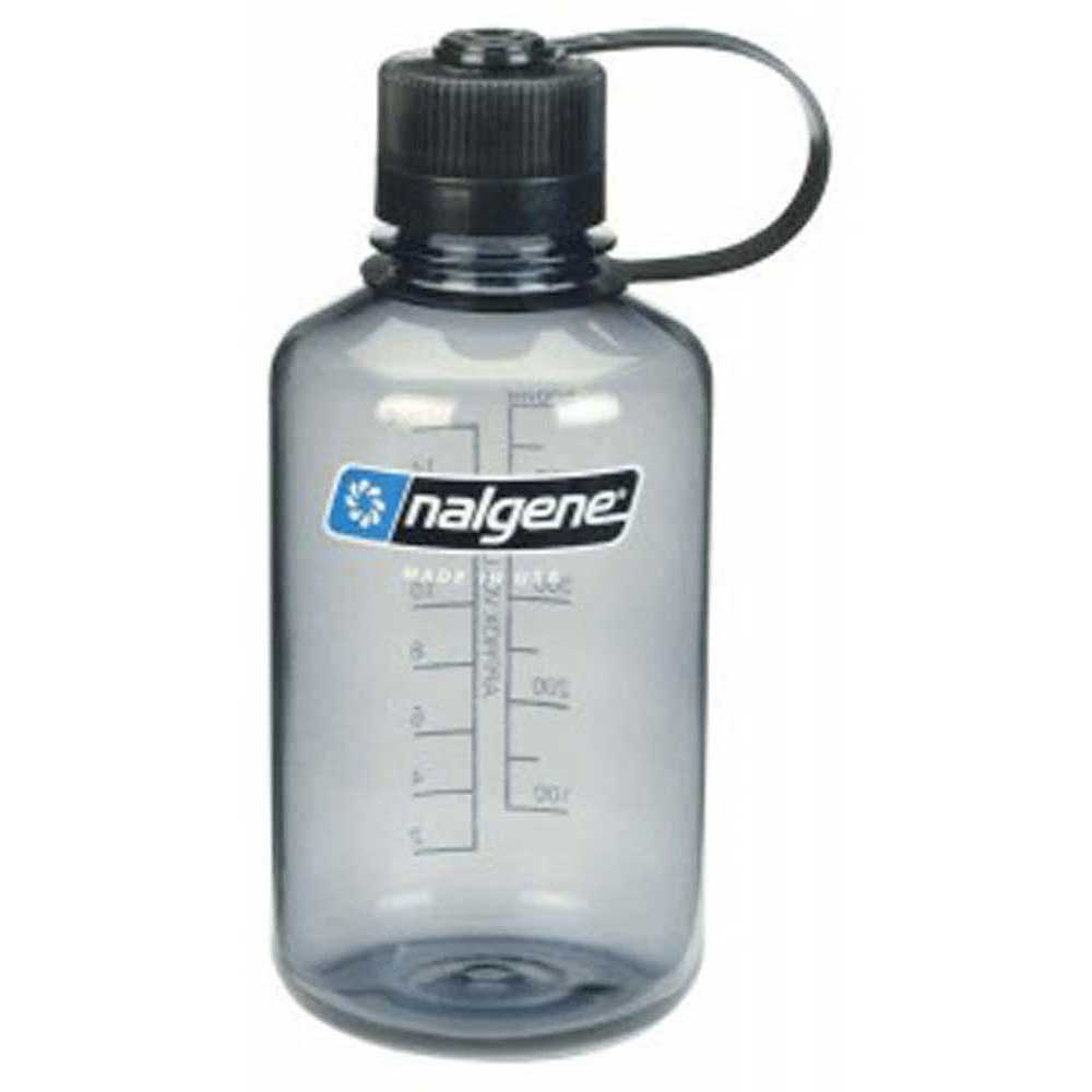 Nalgene Narrow Mouth Bottle 500ml One Size Gray / Loop-Top Black