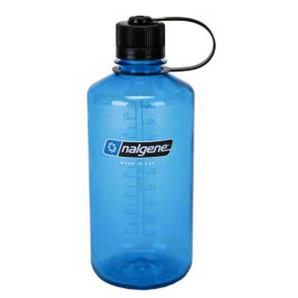 Nalgene Narrow Mouth Bottle 1l One Size Blue / Loop-Top Black