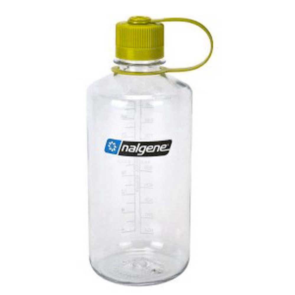 Nalgene Narrow Mouth Bottle 1l One Size Transparent / Loop-Top Green