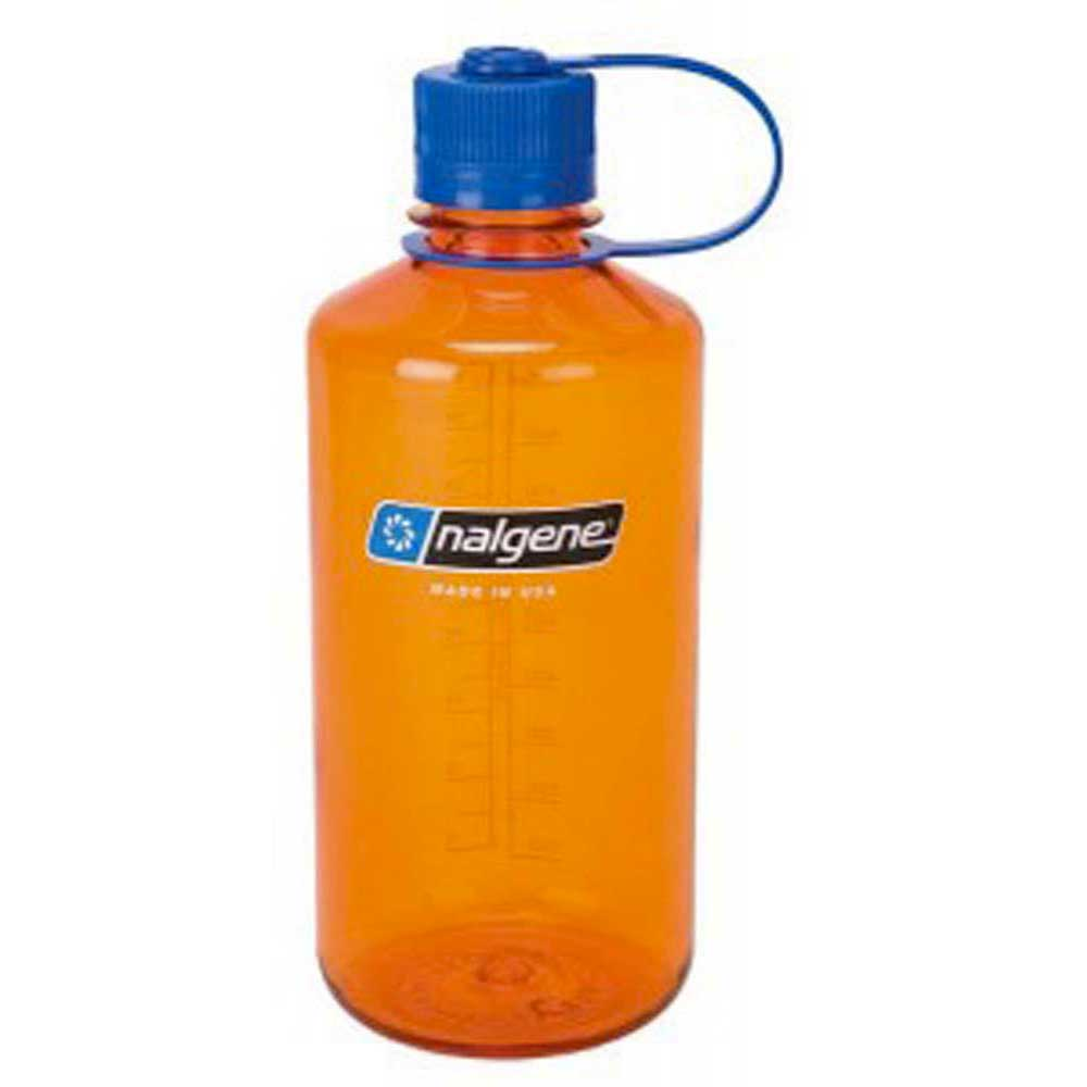 Nalgene Narrow Mouth Bottle 1l One Size Orange / Loop-Top Blue