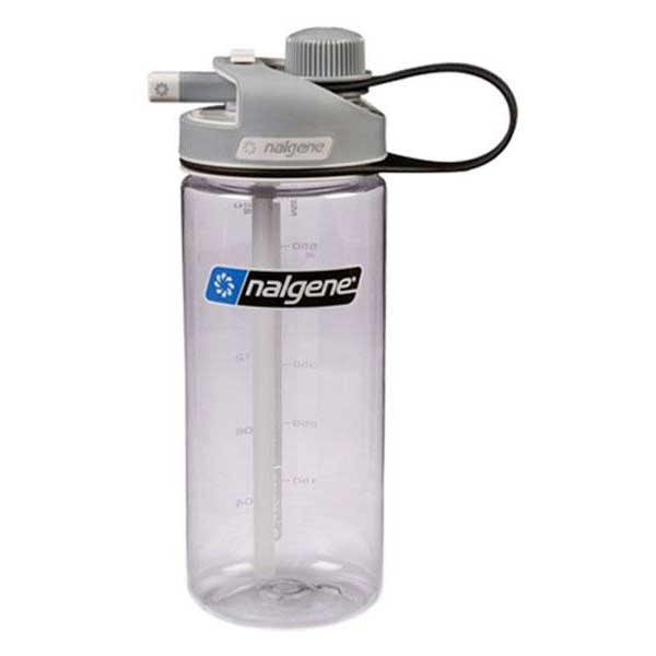 Nalgene Multi Drink Bottle 700ml One Size Transparent / Loop-Top Gray