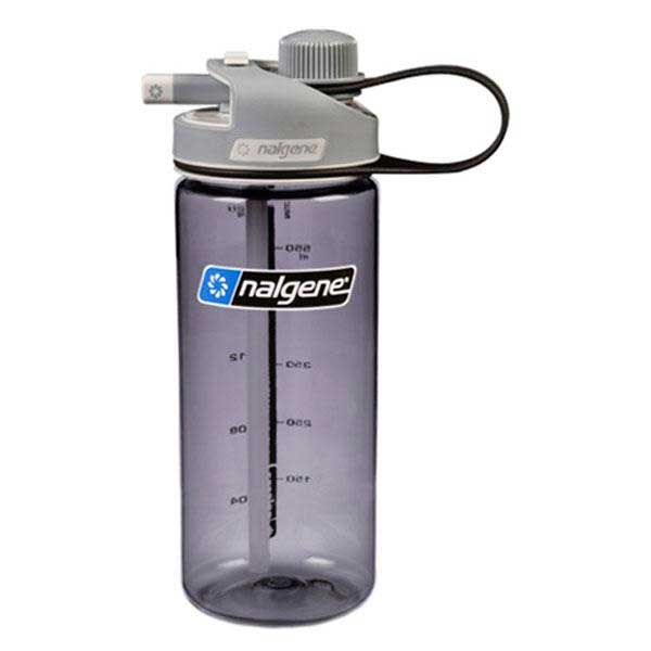 Nalgene Multi Drink Bottle 700ml One Size Gray / Loop-Top Gray