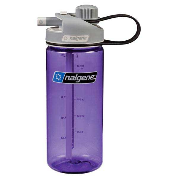 Nalgene Multi Drink Bottle 700ml One Size Lilac / Loop-Top Gray