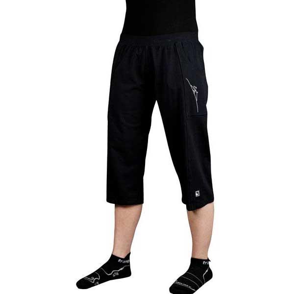 Trangoworld Pantalon 3/4 Pontas Pants S Black