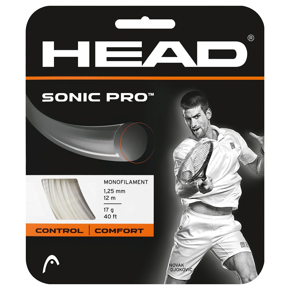 Head Racket Sonic Pro 12 M 1.30 mm White