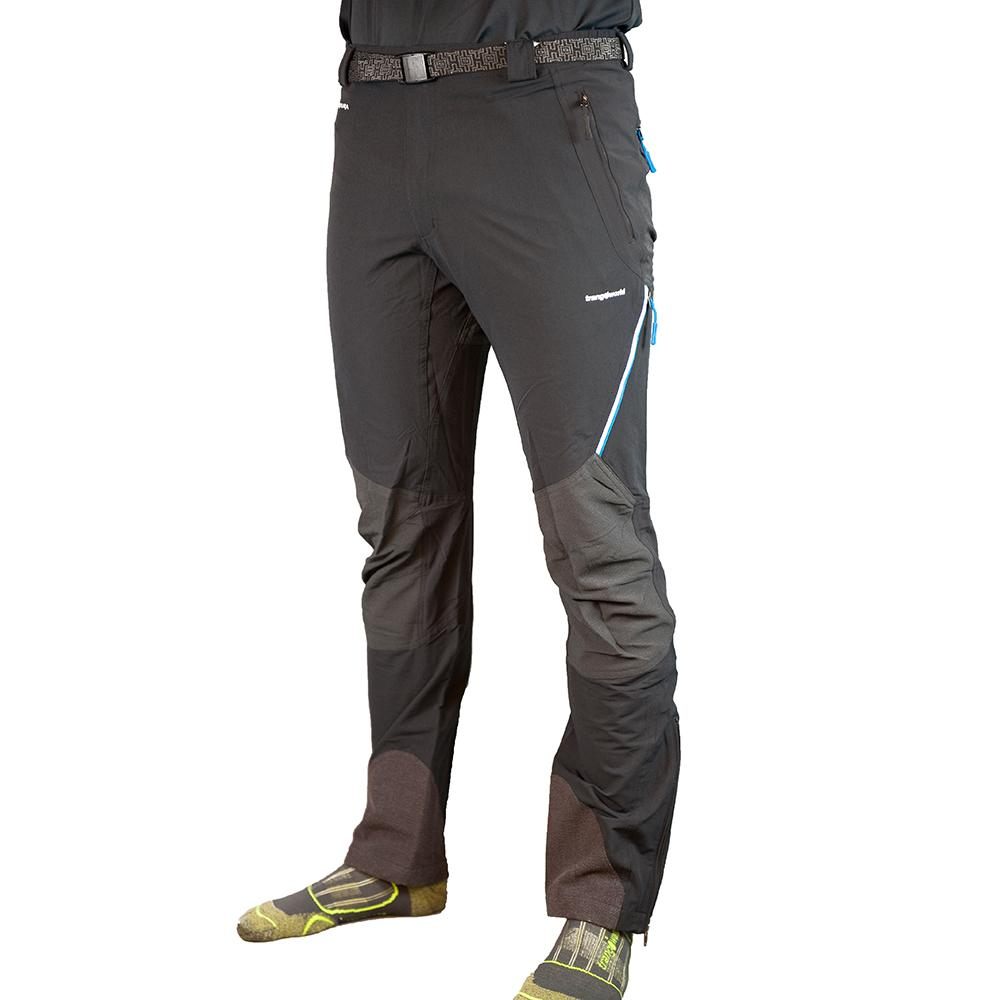 Trangoworld Prote Fi Pants Short XXL Black / Anthracite