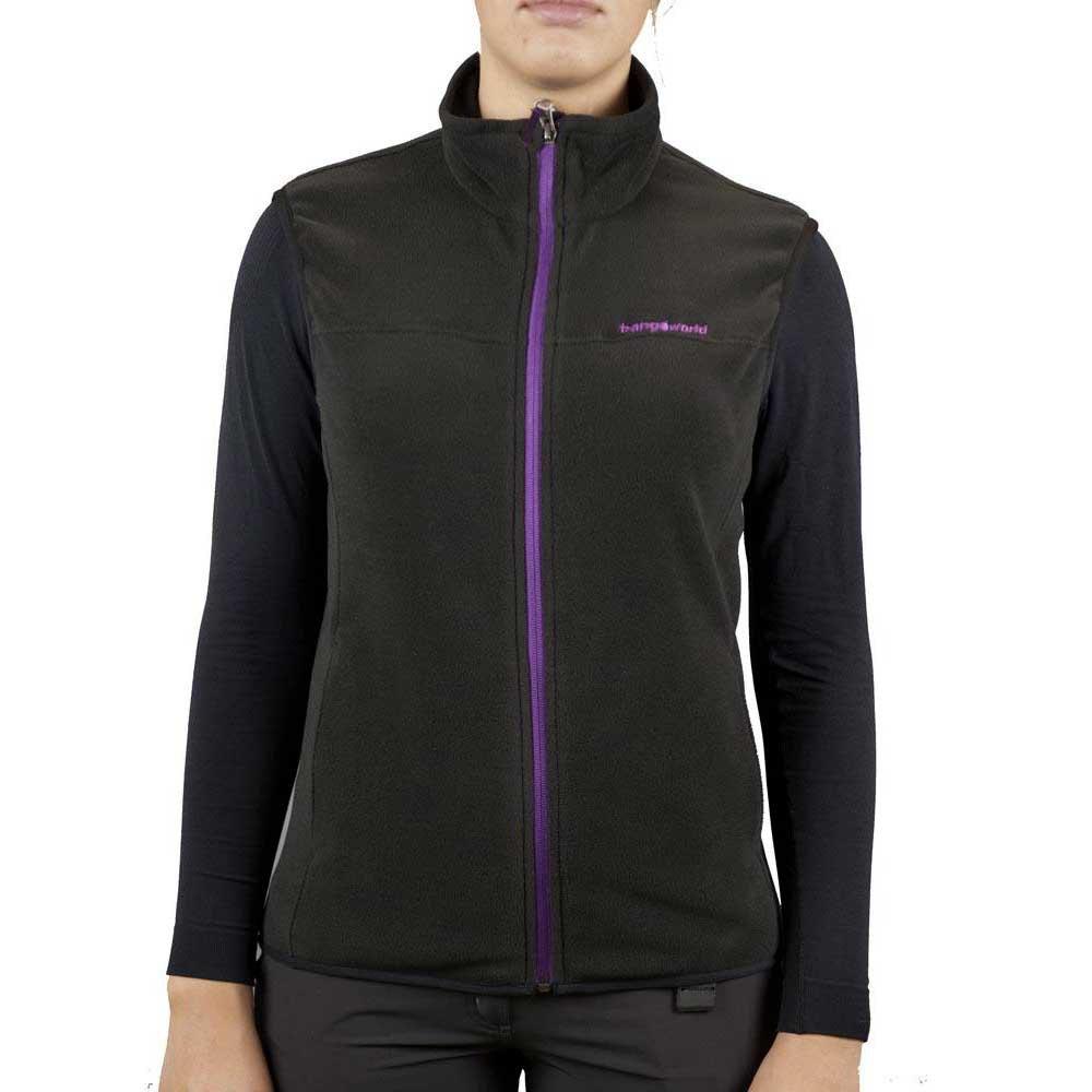 Trangoworld Dira Ua Vest Woman L Black / Lavanda