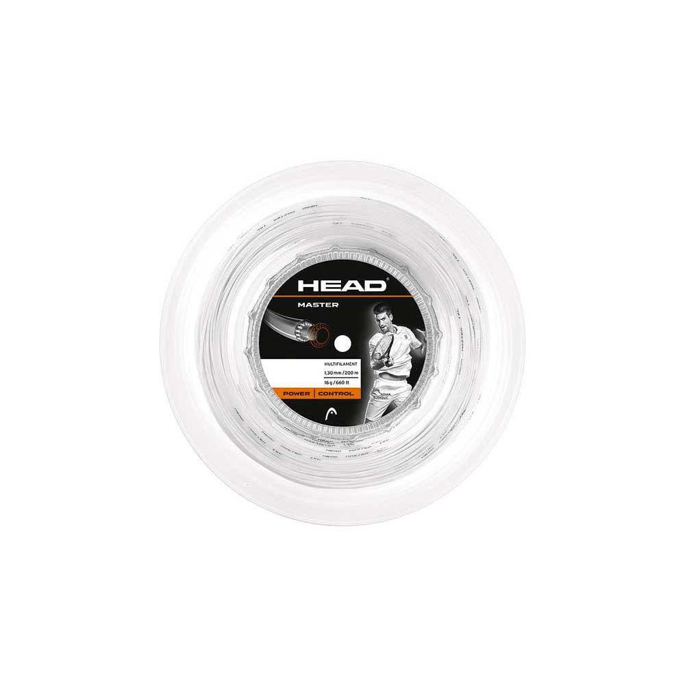 Head Racket Master 200 M 1.30 mm White