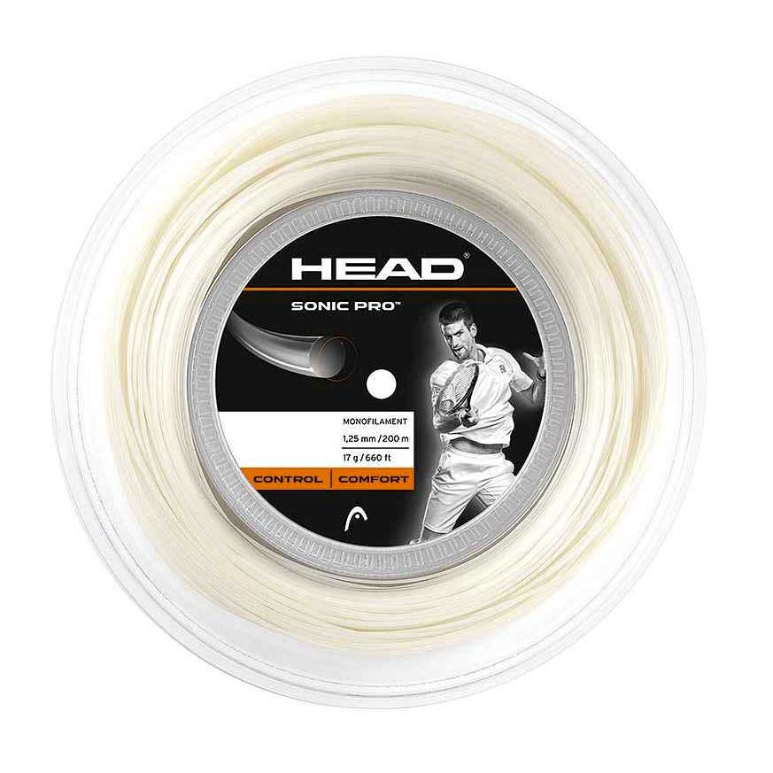 Head Racket Sonic Pro 200 M 1.30 mm White