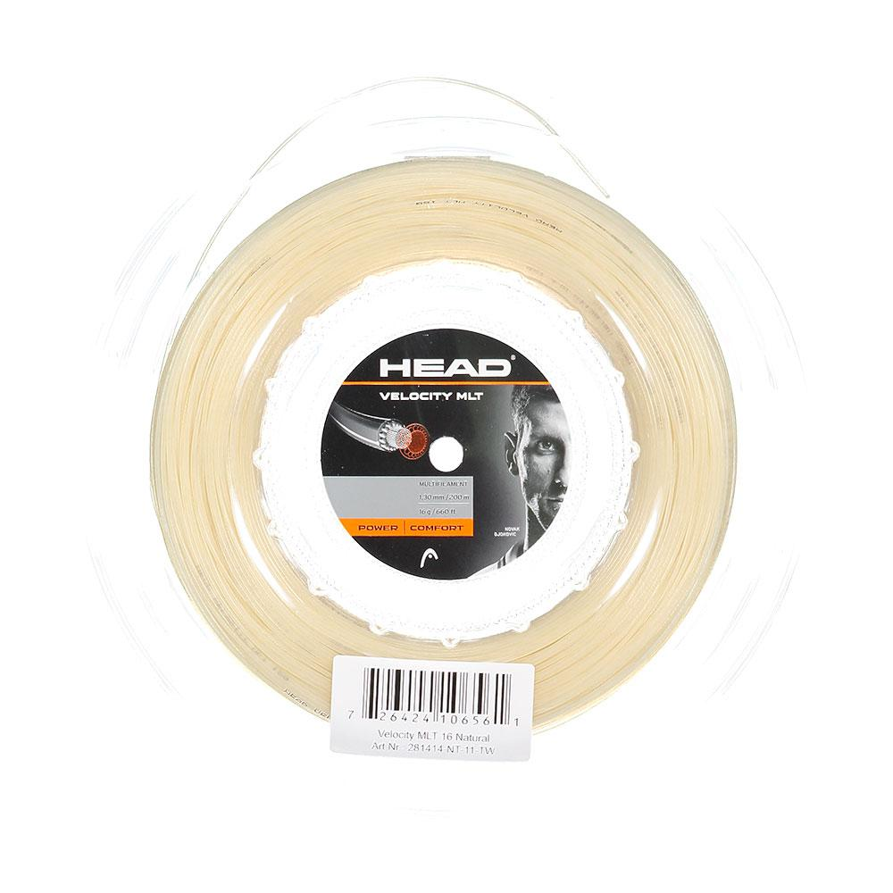 Head Racket Velocity Mlt 200 M 1.35 mm Natural