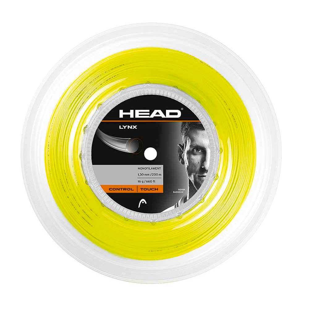 Head Racket Lynx 200 M 1.30 mm Yellow